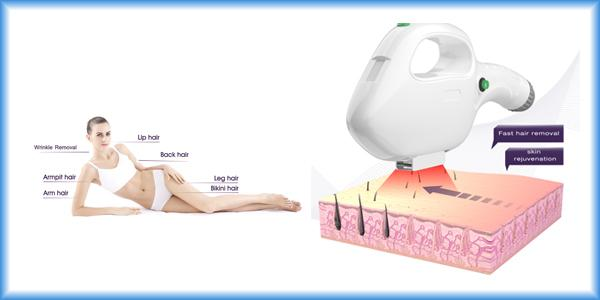 Hair Removal SHR IPL Machine OPT 10.4 Inch Color Touch LCD Display