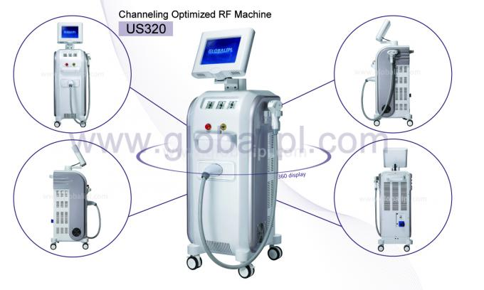 Channeling Optimized RF Skin Tightening Machine With Three Treatment Head