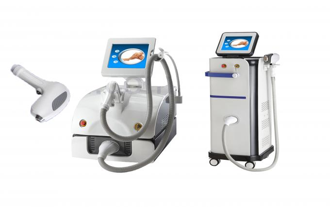 High Power 10 Bars 808nm Diode Laser Hair Removal Machine With Microchannel Cooling System 1