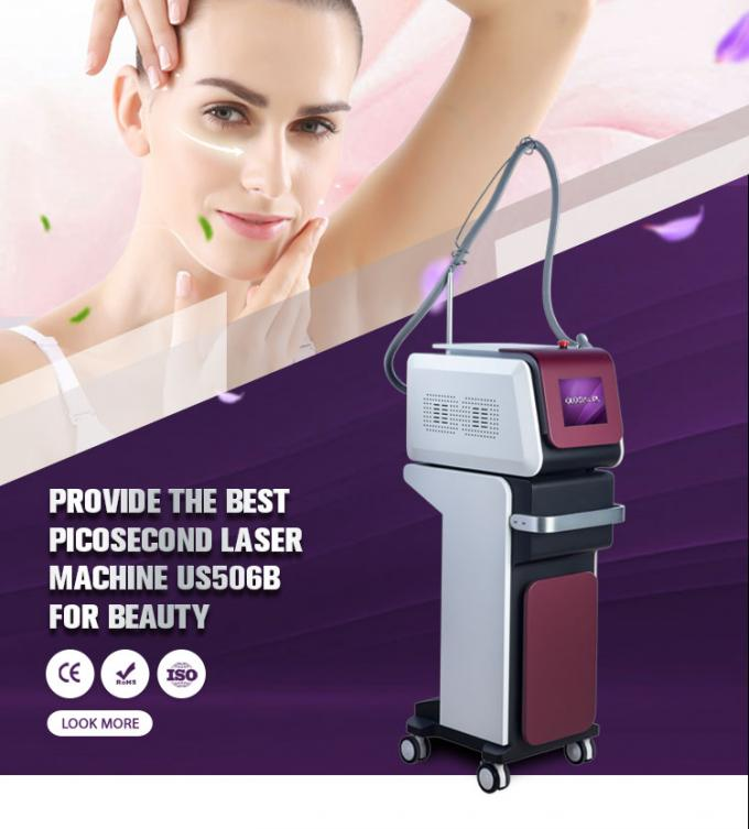Portable ND YAG Laser Tattoo Removal Machine US506B