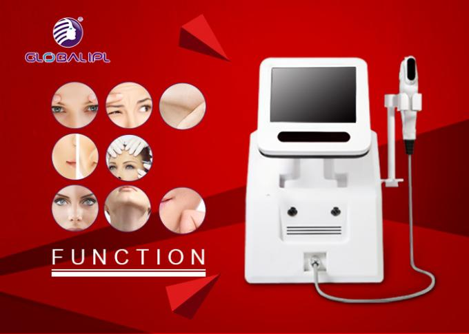 2 In 1 Hifu Facelift Machine 5 Cartriges For Wrinkle Removal / Body Slimming 0
