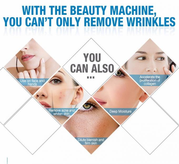 "3.2MHz Frequency Wrinkle Remover Machine With 10 "" Color Touch LCD Screen 1"