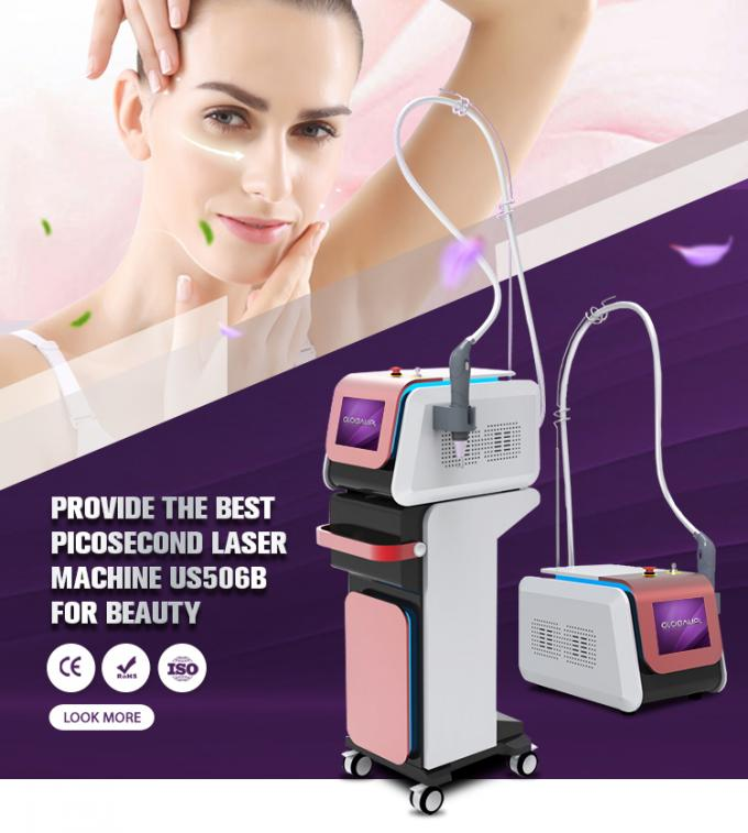 Medical Ce Approved Laser Picosecond Laser Portable Tattoo Removal Machine Globalipl