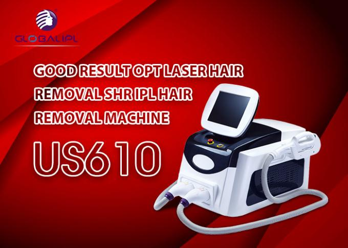 Super Quiet Water Pump SHR IPL Laser Machine For Improve Slender Wrinkles