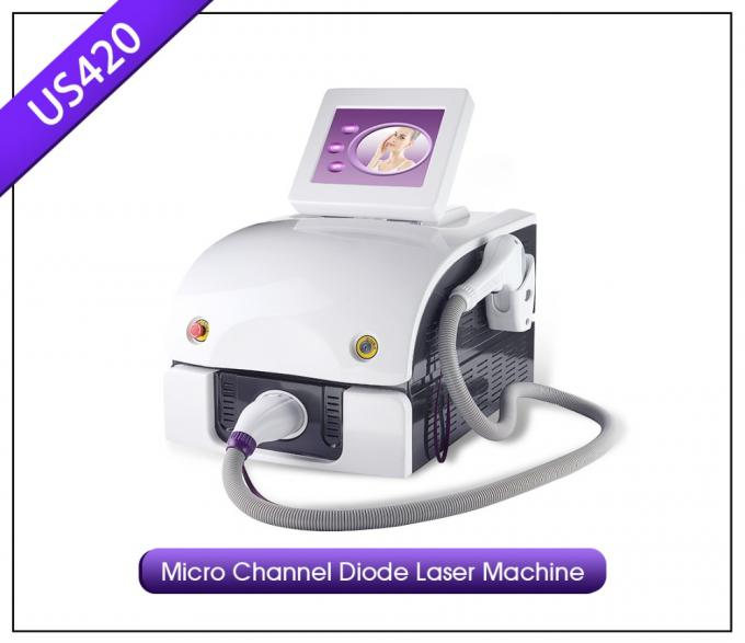 1064nm 755nm 808nm Diode Laser Hair Removal Machine For Pernement Treatment