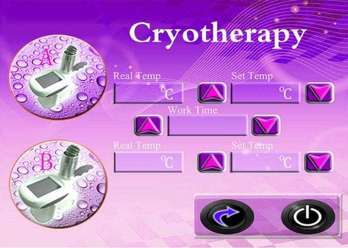 Cellulite Removal Cryolipolysis Machine For Body Slimming And Contouring