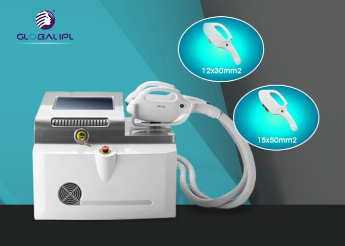 Multifunctional SHR IPL Machine Laser Hair Removal Skin Rejuvenation 10 Shots 1s Frequency