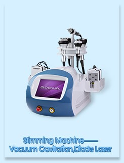 Face / Neck Lifting RF Cavitation Slimming Machine Weight Reduction Beauty Machine