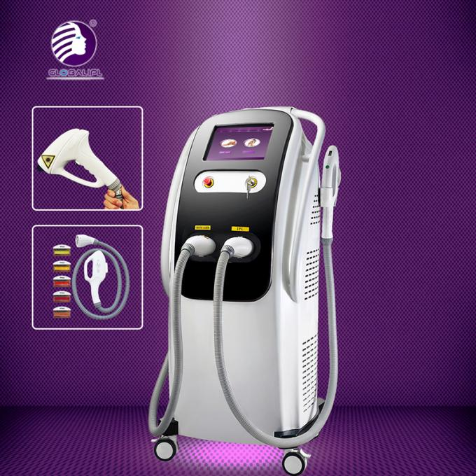 2H Beauty Diode Laser Hair Removal Machine 2500W Output 2 Years Warranty 0