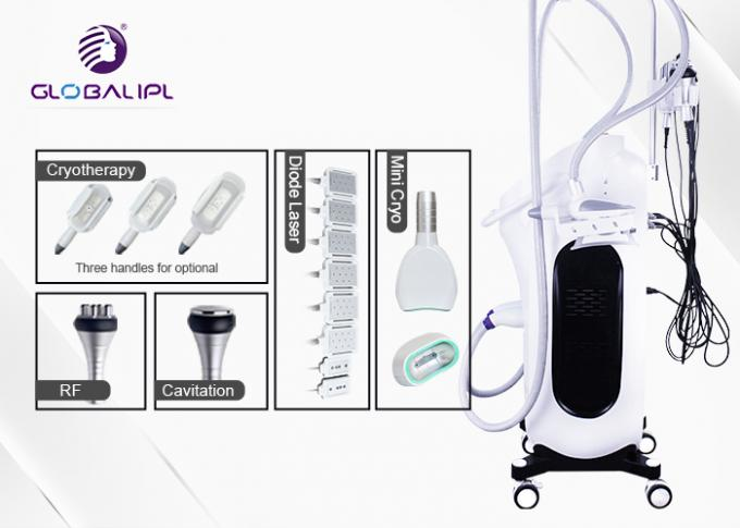Multipolar RF 400kpa Cryolipolysis Body Slimming Machine 0
