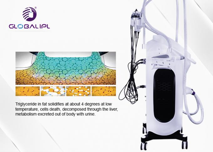 Multipolar RF 400kpa Cryolipolysis Body Slimming Machine 3