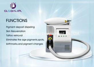 China Professional YAG Laser Tattoo Removal Equipment 50/60HZ Air + Water Cooling System supplier