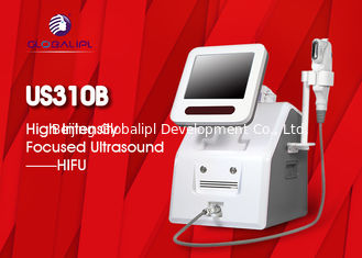China 2 In 1 Hifu Facelift Machine 5 Cartriges For Wrinkle Removal / Body Slimming supplier