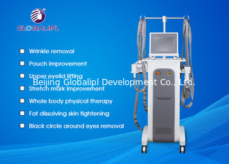 China 5 In 1 System RF Roller Vacuum Body Slimming Machine For Face / Body Use supplier
