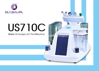 China Deep Skin Cleaning Water Oxygen Jet Peel Machine Acne Removal 6MHZ Frequency supplier