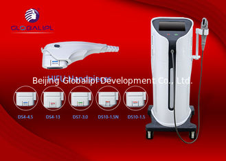 China AC200-220V 3.2Mhz Hifu Machine Equipped 3 Heads For Effective Wrinkle Removal supplier