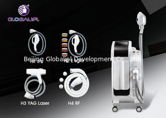 China 4h Yag Ipl E Light Hair Removal Machine White Ipl Equipment Skin Rejuvenation supplier