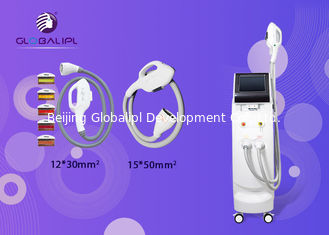 China Vertical SHR IPL RF Beauty Equipment 10 Inch 15*50mm Spot Size Hair Removal supplier