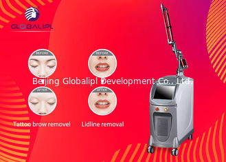 China 1064nm / 532nm ND YAG Laser Machine For Skin Rejuvenation / Pigment Removal supplier