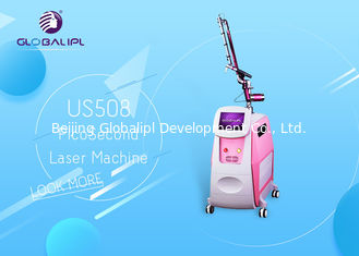 China Pico Laser ND YAG Laser Machine Tattoo Removal Skin Therapy 1064nm / 532nm supplier