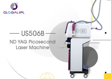 Narrow Pulse Width Pico Tattoo Removal Equipment 15Hz Frequency US506B Model