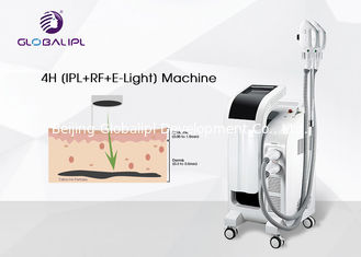 China New Style E Light IPL RF ND YAG Laser Multifunction Machine 2500W Output supplier