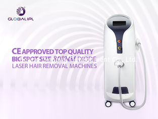 China 755nm 808nm 1064nm Stationary Permanent Laser Hair Removal Machines Big Spot Size supplier