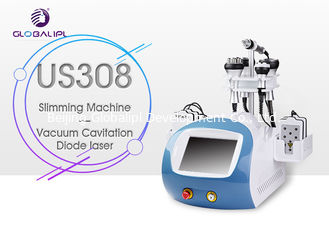 China Ultrasound Weight Loss Vacuum Slimming Machine 50mm Cavitation Head Diameter supplier