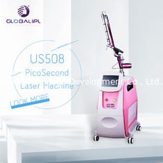 China 1064 / 532nm Q Switch ND YAG Laser Machine 500PS Pulse Duration Portable Style supplier