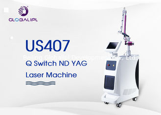 China 4 Handpieces Portable Laser Tattoo Removal Machine With 1 - 6hz Frequency supplier