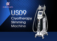 China 4 Handles 1000w Cryolipolysis Slimming Machine / 1-15J Vacuum Slimming Machine factory