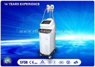 "China 2 Handles Vacuum System Cryolipolysis Beauty Machine 8.4"" LCD Touch Screen factory"