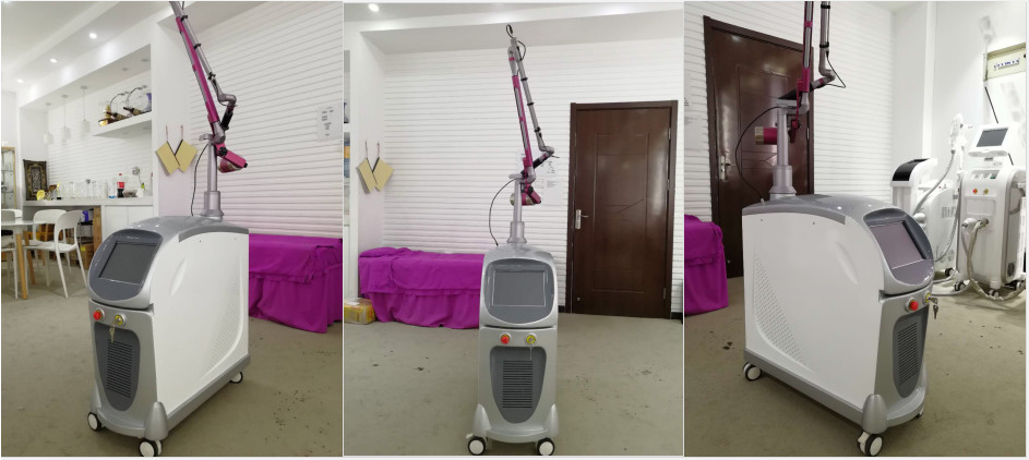 1-10HZ Frequency Q Switched Nd Yag Laser For Pigmentation / Laser Tattoo Removal Equipment