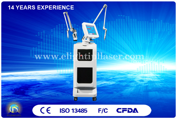 Lip Line / Eyebrow Design Laser Tattoo Removal Machine Q-Switch 10 Hz , Medical CE