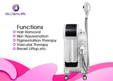 Hair Removal IPL RF E Light IPL RF ND YAG Laser Machine 2500W For Salon