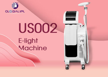 6MHz E Light Ipl Rf Machine / Elight Hair Removal Machine For Clinc Salon Hospital
