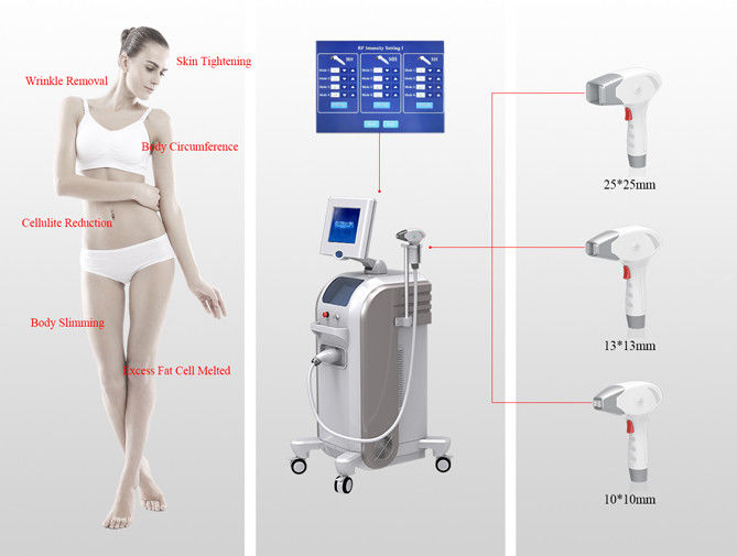 3 Tips RF Skin Tightening Machine / Radio Frequency Machine For Skin Tightening