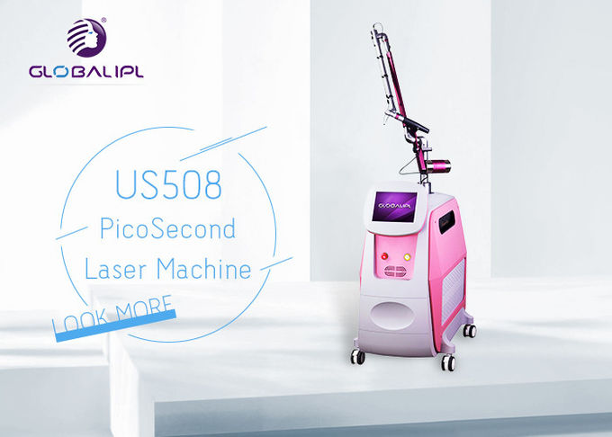Picosecond Laser Tattoo Removal Equipment 1-10HZ Power With SBS System