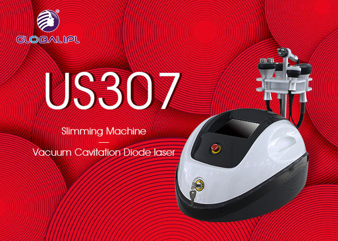 "220V / 110V Vacuum Slimming Machine 1200W With 8.4""Color Touch LCD Screen"