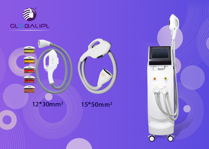"4000W SHR SSR Beauty Machine , Laser Hair Removal Equipment 10"" LCD Display"