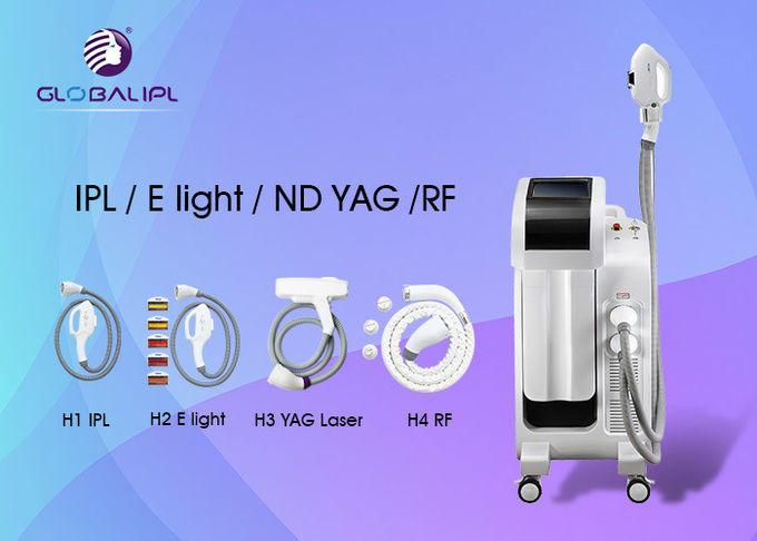 CE Compliant SHR IPL Machine For Skin Rejuvenation Internal Modular Design 0