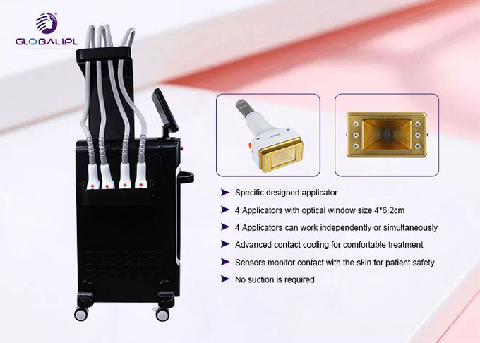 CE Approval 1060nm ND YAG Laser Machine 60W Each Applicator Power US320L